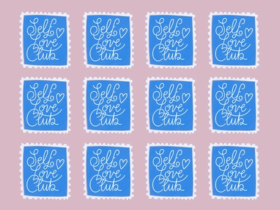 Self Love Club Stamps