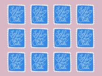 Self Love Club Stamps