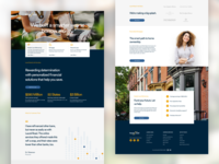 Online Lending and Bank Homepage