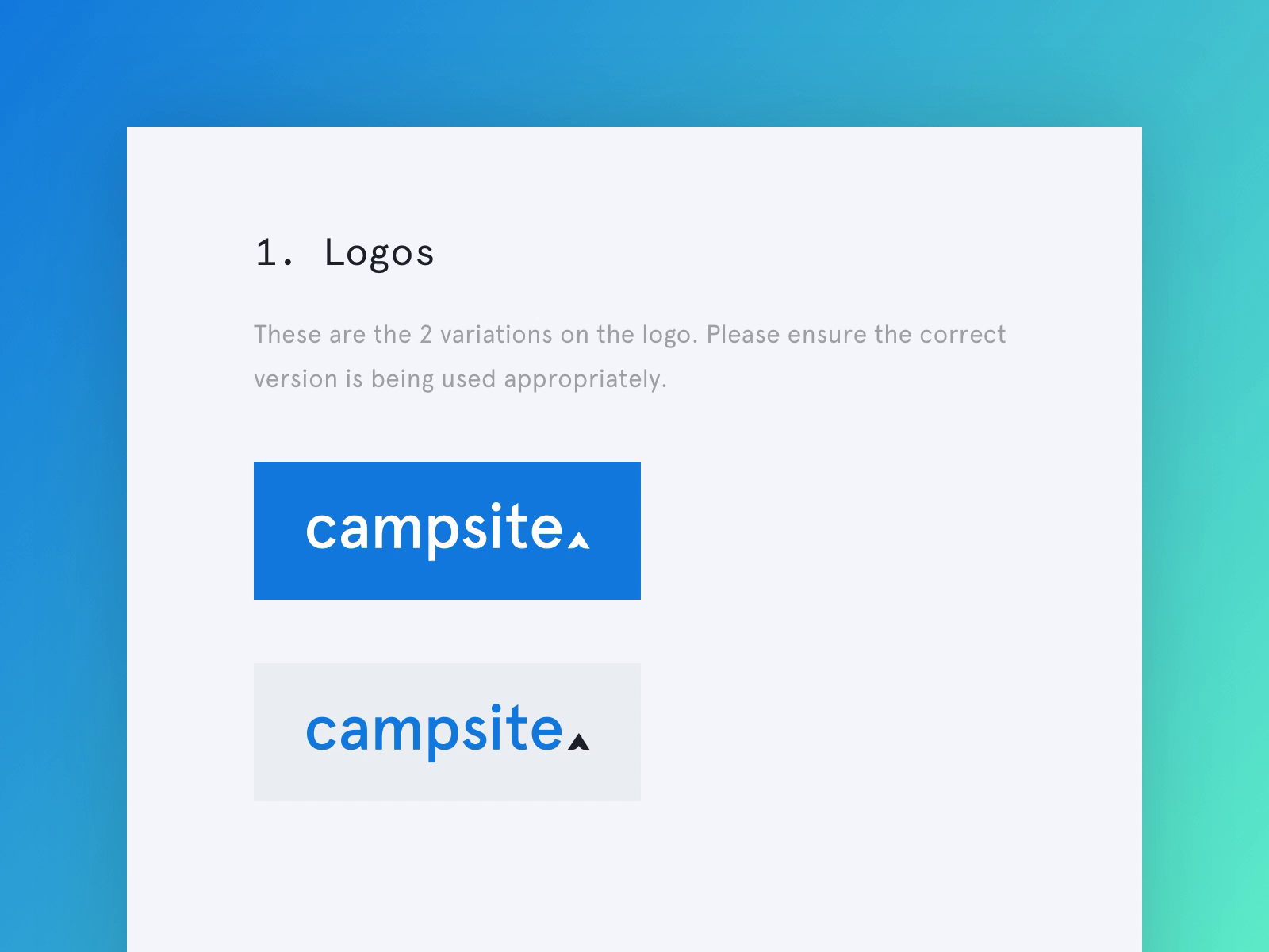 Campsite ui framework animation 2