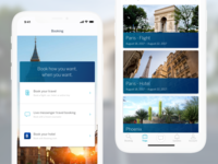 Mobile Travel Booking and Itinerary App