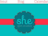 She Spin Studios Logo