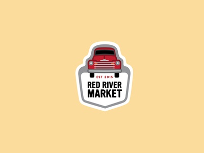 Red River Market Enamel Pins 1