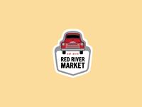 Red River Market Enamel Pins 1