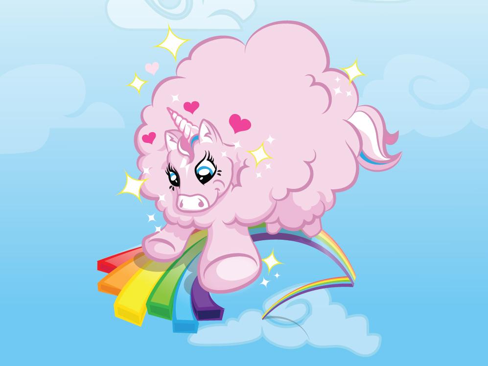 🎵Pink Fluffy Unicorns Dancing on Rainbows 🎵 by Jeff Knight