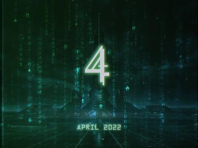 Matrix 4 Poster animation after effects typogaphy matrix 4 the one glitch movie poster morpheus neo the matrix matrix