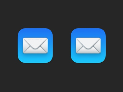 Fixed Mail app icon on Mac OS 11 Big Sur email icon envelope mac os mac icon icon email mail mac os 11 mac big sur