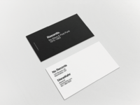 No Records Business Card
