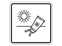 Sunscreen Pictogram
