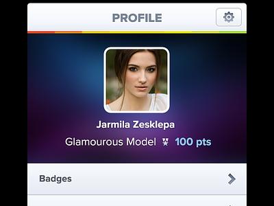 Brandlove Profile profile avatar button nav bar icon brandlove socialbakers iphone app application ui