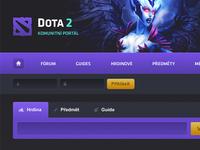 Redesigning Dota 2 Portal