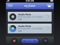 Audio Notes