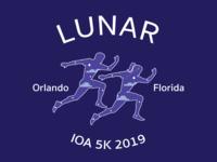 Lunar 5K Shirt Design