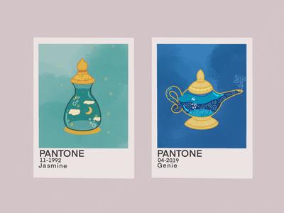 Disney Pantone : Aladdin