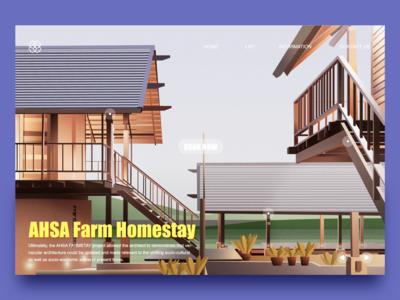 AHSA Farm Homestay illustration