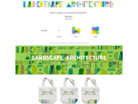 Landscape Font Design
