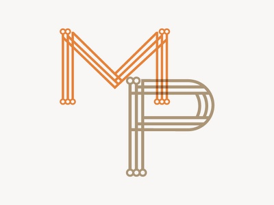 MP custom type typography m p custom typography