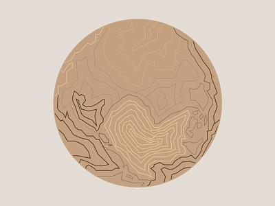 Pluto linework astronomy space illustration planet pluto