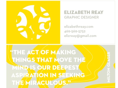 New Business Card Options