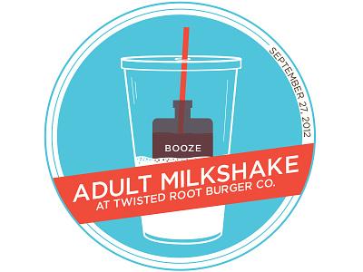 Visual Diary illustration typography milkshake visual diary