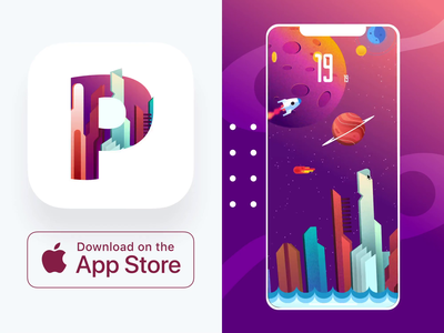Plexicle iOS Game – Free Download interaction collision basic quick short kill-time simple competitive high score obstacles never-ending 2d pufferfish asteroids blackhole ghosts spaceship space hyper casual plexicle