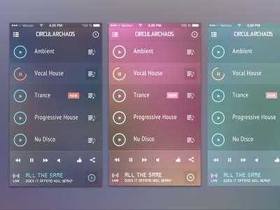 FREE PSDs - iGravertical Screen Layers + iOS 7 Screen Converter tilt perspective iphone 5 music ui user interface freebie free giveaway download psd iphone5 igravertical ios7 screens 5c iphone 5s iphone 5s ios 7 neon songs playlist ios media media controls template mockup screen app