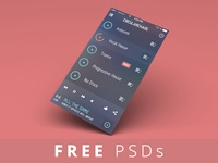 FREE PSDs - iGravertical Screen Layers + iOS 7 Screen Converter