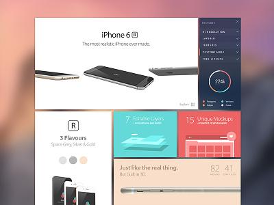 iPhone 6r 3D Mockups iphone iphone 6r 3ds max photoshop lightroom render rendering iphone 6 3d