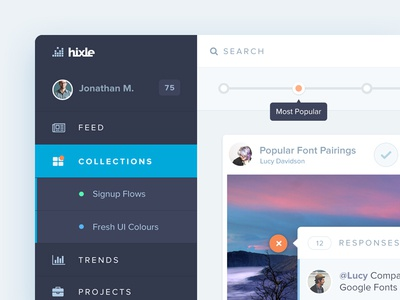 Hixle Dashboard