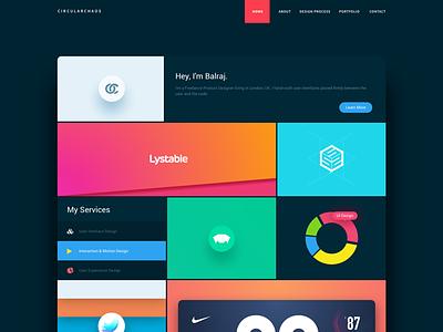 New Portfolio Site (Live) live design process site colours case study branding css wordpress sketch ux ui portfolio