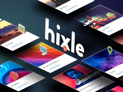 Hixle.co side project live curate intuition trends styles tools fonts resources design hixle.co hixle