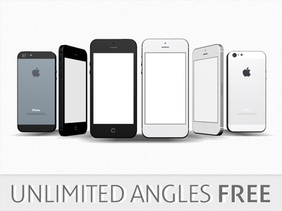 iPhone 5 3D Models Giveaway iphone 5 iphone5 free giveaway unlimited angles