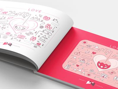 Smartit Studios - Notebook cover
