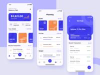 Money Management | Exploration ux ui wallet minimalism exploration design savings money management app mobile app finance