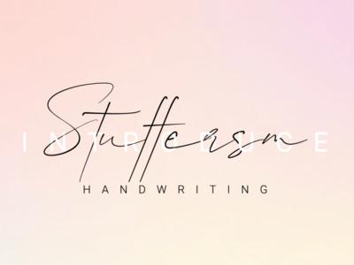 Stuffersm | Handwriting Font