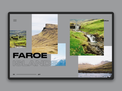 Faroe Islands - homepage