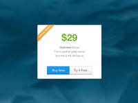 Landing Page Price Box