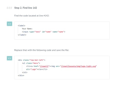 WordPress Docs - F.A.Q. Page block code