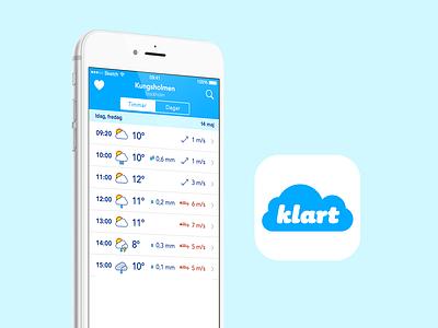 Klart ios product design app ui design icon