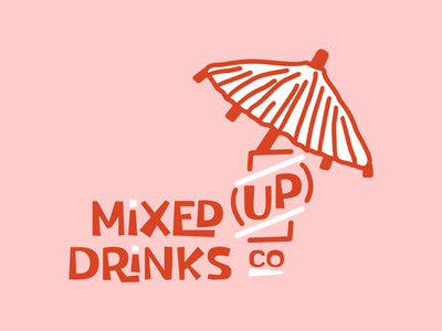 Mixed Up Drinks Logo