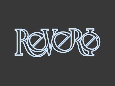 Reverie - A Daydream lettermark letters logo letters symmetric lettering art circle logo typography vector type negativespace lettering minimal