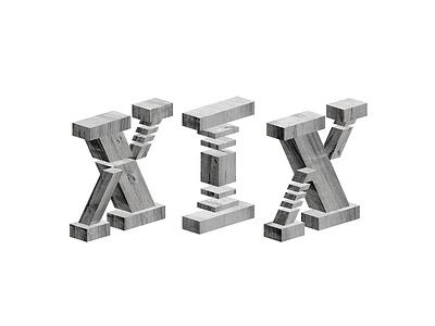 VSA 2019 Internship Numerals—Strategy Intern black typography type design