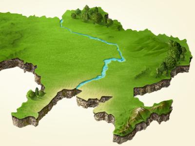 Map  digital art map illustration