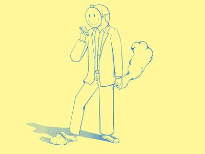 Happy dude wacom art graphicdesign color illustration design