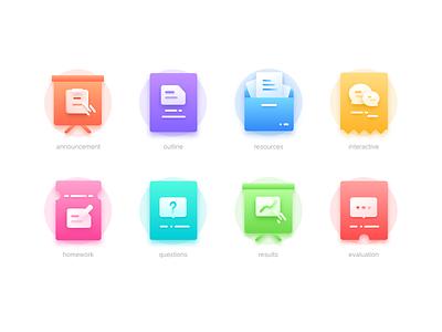 education icons icons uiux