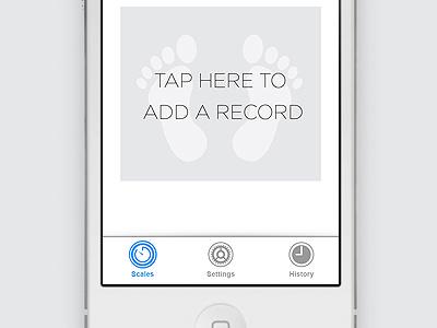 iOS 7 tabbar Icons ios7 tabbar simple clean plain flat iphone apple ipad design grey jami