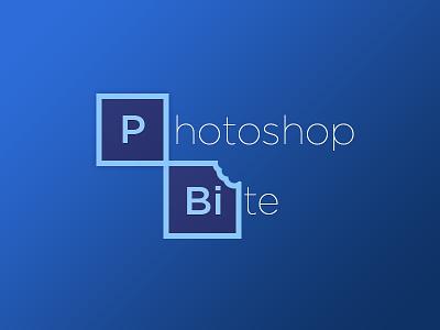 Photoshop Bite photoshop bite design rebound blue flat cs6