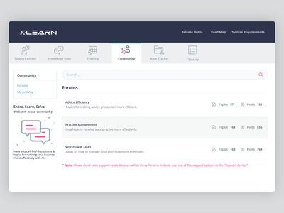 Web-App UI ui design. web ui education app minimalist sleek clean