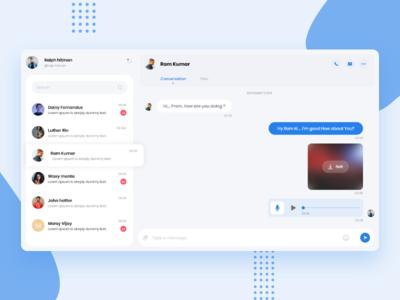 Web Chat UI