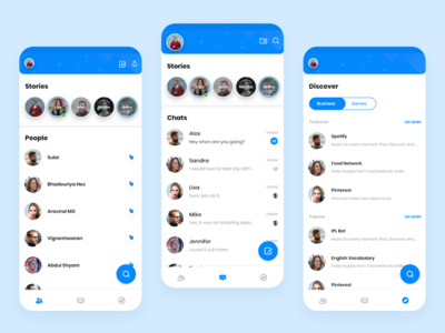 Facebook Messenger Revamp